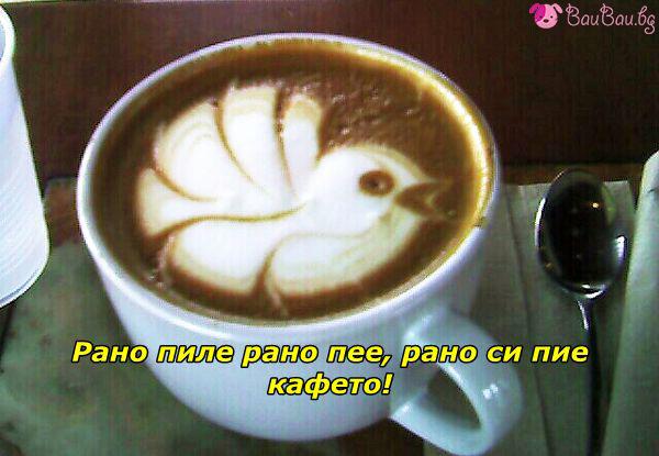 Кафе за летящ старт на деня