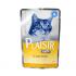 Пауч за котки Plaisir с чувствителен стомах - с птиче месо в сос Грейви