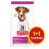 Hills - Science Plan Small&Mini Puppy с пилешко - Пълноценна суха храна за дребни и миниатюрни породи кучета от отбиване до 1 година. За бременни и кърмещи кучета 300ГР+300ГР