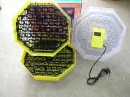 Продавам инкубатори,82бр.яйца с влагомер,официален вносител на Румънски инкубатори