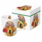 Порцеланова чаша с куче