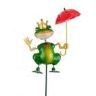 Декорация жабка с чадърче