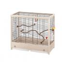 Клетка за птици /69х34,5х58с,м/ - оборудвана