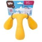 Трикрака играчка West Paw - с меко ядро от пяна за дърпане