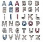 Декоративна буква за поводи и нашийници - от A до Z