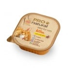 Пастет за малко коте до 12месеца Pro natural 100гр, с пилешко месо