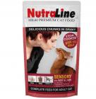 Nutraline Cat Sensory пауч за коте 100гр - различни вкусове