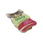 Пастет за котка Oasy Cat, 85 гр  - чудесно кулинарно изкушение за мъркащи ценители, които са на възраст над 12 месеца - три вкуса