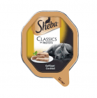 Патет за котки Sheba - различни вкусове, 85 гр.