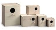 Къщичка за птици NIDO Legno - четири размера