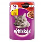 Whiskas Pouch Casserole - Пауч със сос за котки над 1 година, 85 гр.