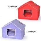 Къща за  коте - два цвята