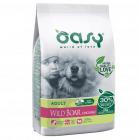 Храна за кучета Oasy Wild Boar Monoprotein Adult с глиганско за всички породи над 12 месеца, две разфасовки
