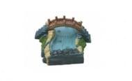 Мост с подводно течаща река /малък/