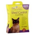 """""""Shed Control"""" - Мокри кърпички против падане на козина за коте"""