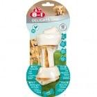 Лакомство за куче 8in1 - Вкусно пилешко месо, увито в твърда сурова кожа. Спомагат за по-свеж дъх - три размера