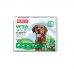 Veto Pure Bio Spot On Dog - Репелентни капки за кучета от средни породи, 3 бр., Beaphar