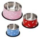Дълбока купа Кокер с гумена основа - за кучета с дълги уши различни размери и цветове