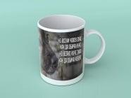 Куче - подаръчна чаша с вдъхновяващо послание, За животните с любов