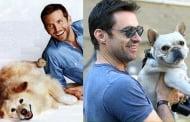 Домашните любимци на 10 сексапилни известни мъже