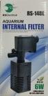 RS-148E Вътрешен филтър за аквариум - 500л/ч