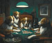 Кой каза, че кучетата не могат да играят покер?