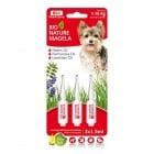 Bio-Nature spot-on за кучета - намалява падането на козината, стимулира растежа и подхранва кожата в дълбочина, 1-10 кг. 3 бр.