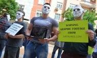 Вегани показаха на обществото брутални кадри с насилие над животните
