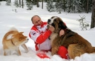 Владимир Путин и неговите обичани кучета