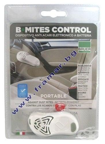Електронно устройство B-MITES CONTROL PORTABLE - срещу алергии от домашен прах и акари, B-MITES CONTROL