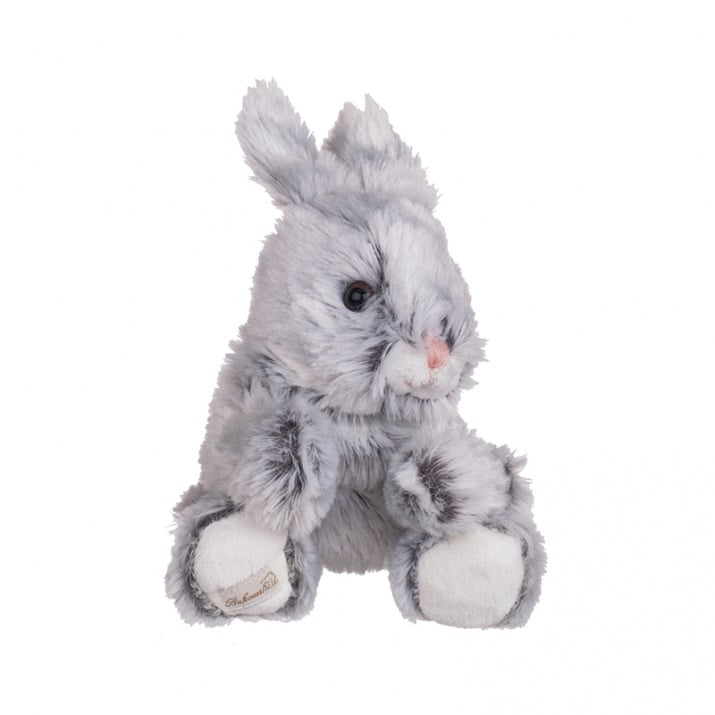 Плюшена играчка - сиво зайче