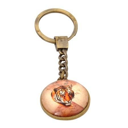 Ключодържател с лик на тигър