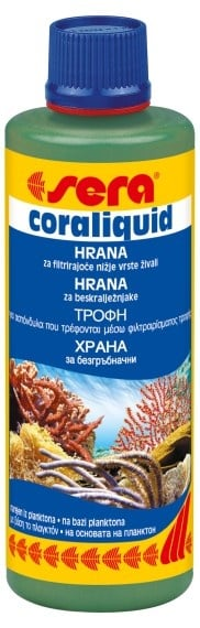 Sera marin coraliquid 250 ml  \Течна храна за безгръбначни\