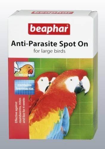 Anti-Parazite spot - on - Противопаразитни капки за едри птици