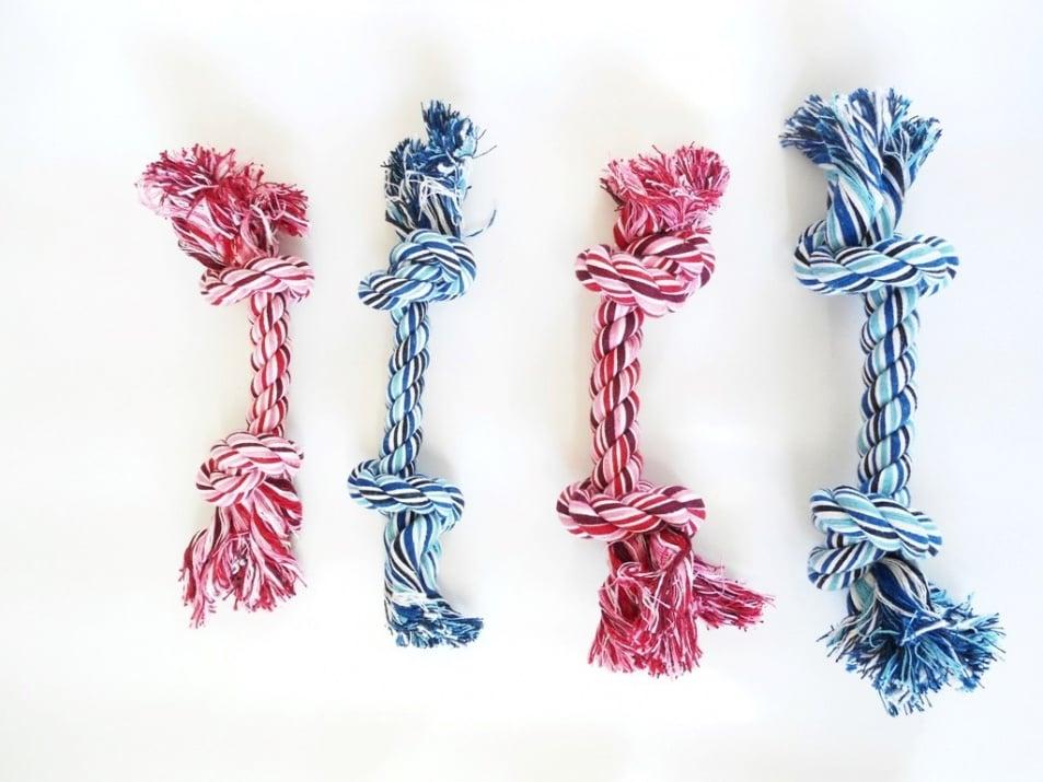 Въже-кокал за кучета - различни размери и цветове
