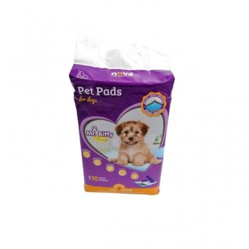 Хигиенни подложки на за куче Mr. Biffy 10бр - два размера