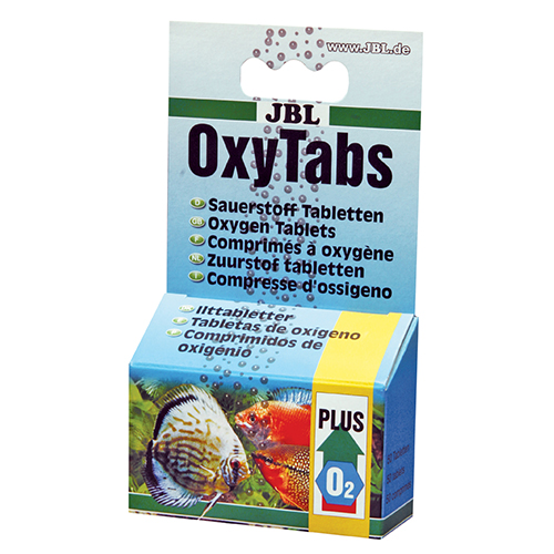 JBL OXYTABS - КИСЛОРОД НА ТАБЛЕТКИ 50ТАБЛ