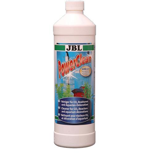 JBL Power Clean 500ml - концентрат за почистване наСО2 реактори, аквариумни декорации нагреватели и др.