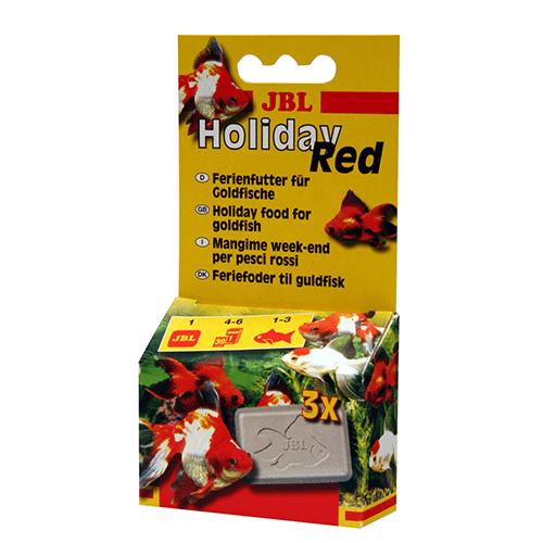 JBL Holiday Red 20gr - блокчета, разтварящи се за 4-6 дни - за златни рибки
