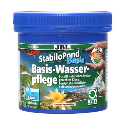 JBL StabiloPond Basis 250гр. – Препарат за основна грижа за градински езера.