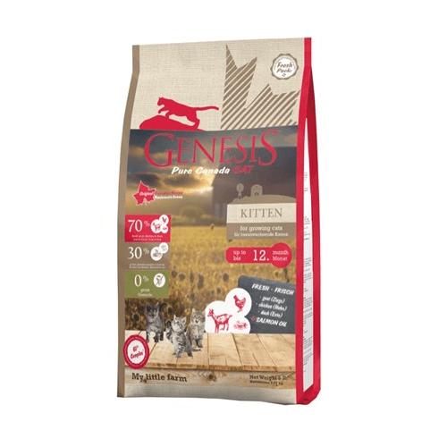 Genesis Pure Canada, My Little Farm, Kitten - храна за малки котенца, бременни и кърмещи котки