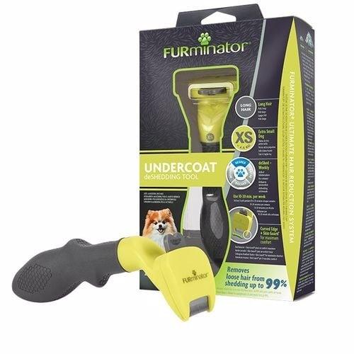 FURminator за малко куче с дълга козина, до 4.5кг,  XS