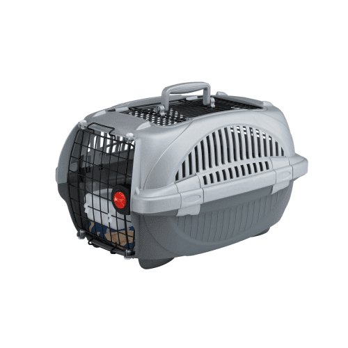 Atlas Deluxe Open - Транспортна чанта за малки кучета и котки - при пътуване с влак, кола или самолет - два размера