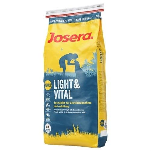 Josera Light & Vital - Висококачествена храна за възрастни или слабо активни кучета, за контрол на теглото