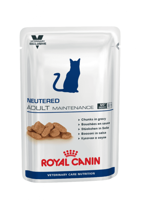 Royal Canin VCN CAT Neutered Weight Balance Pouch - пауч за кастрирани котки с наднормено тегло 0,100 кг