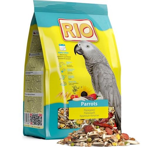 Пълноценна храна RIO за голям папагал - 500гр
