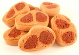 Мини пържолки - бисквитки за кучета
