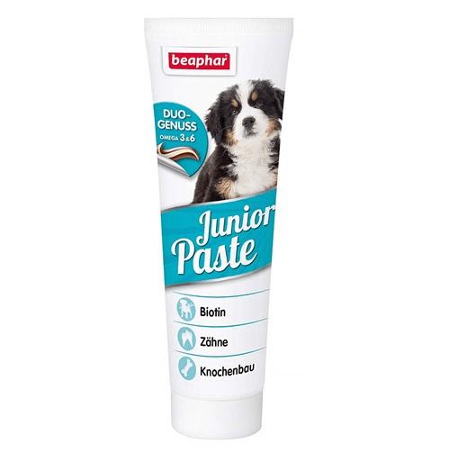 Beaphar Duo Active Junior Paste - мултивитаминна паста за подрастващи кученца, 100гр