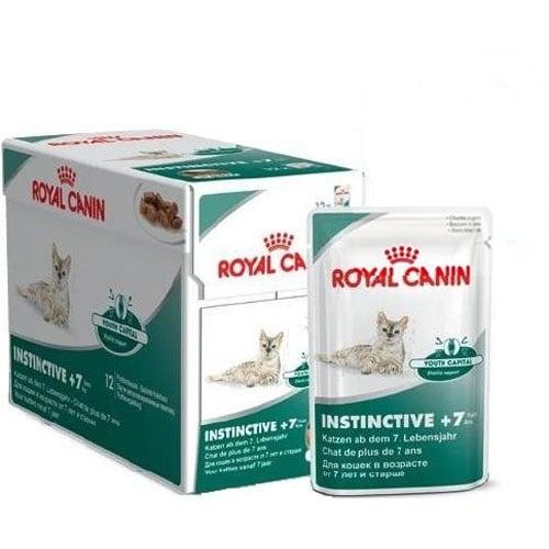 Royal Canin INSTINTIVE +7 – пауч за котки над 7 годишна възраст