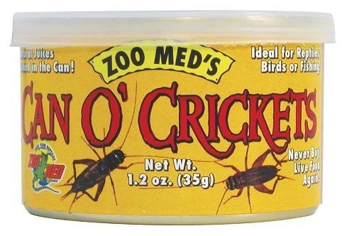 Zoo Med Can'O Crickets – консервирани щурци  35 гр.